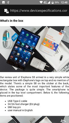 elephone p8 review os ui and software 16 image