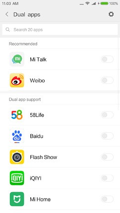 xiaomi mi 5x os ui and software 106 image