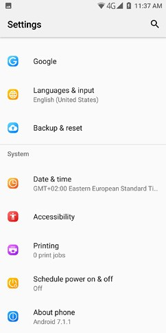 doogee mix 2 os ui and software 41 image