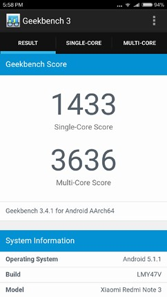 performance geekbench image