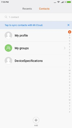 software contacts image