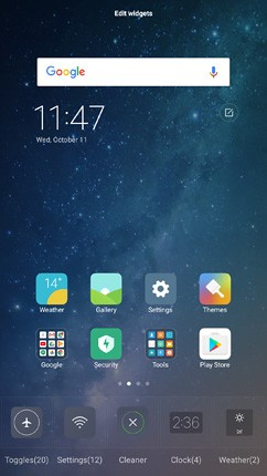 xiaomi mi max 2 os ui and software 16 image