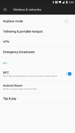 oneplus 5 networks calls connectivity sensors 1 image