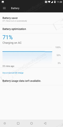 oneplus 5t battery 1 image