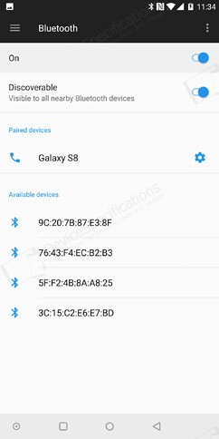 oneplus 5t networks calls connectivity sensors 9 image