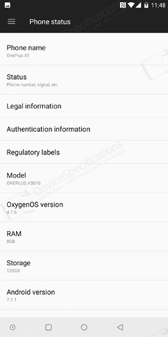 oneplus 5t os ui and software 81 image