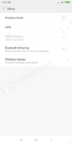 xiaomi redmi 5 plus networks calls and connectivity 5 image