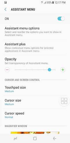 samsung galaxy s8 and s8 duos cloud and accounts accessibility general management software update about phone 10 image