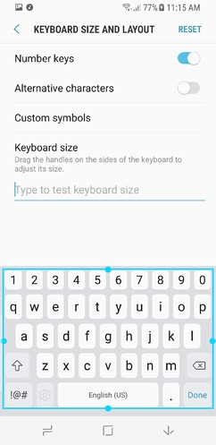 samsung galaxy s8 and s8 duos cloud and accounts accessibility general management software update about phone 19 image