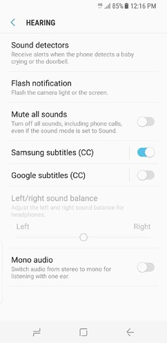samsung galaxy s8 and s8 duos cloud and accounts accessibility general management software update about phone 7 image