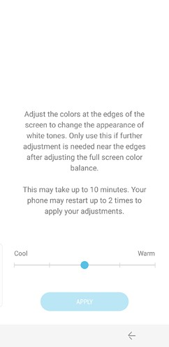 samsung galaxy s8 and s8 duos connections sound notifications and display settings advanced features 17 image