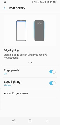 samsung galaxy s8 and s8 duos connections sound notifications and display settings advanced features 25 image