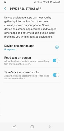 samsung galaxy s8 and s8 duos connections sound notifications and display settings advanced features 32 image