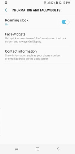 samsung galaxy s8 and s8 duos device maintenance apps lock screen and security fingerprint 20 image