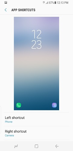 samsung galaxy s8 and s8 duos device maintenance apps lock screen and security fingerprint 23 image