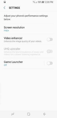 samsung galaxy s8 and s8 duos device maintenance apps lock screen and security fingerprint 6 image